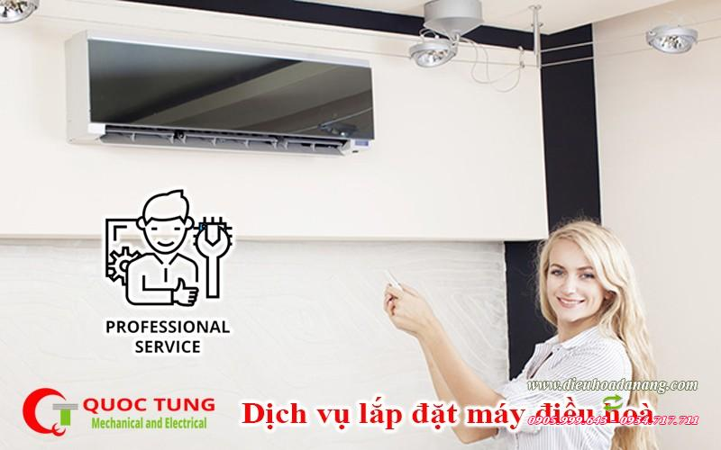 Dịch vụ lắp đặt điều hòa âm trần ống gió tại đà nẵng | dieuhoadanang.com